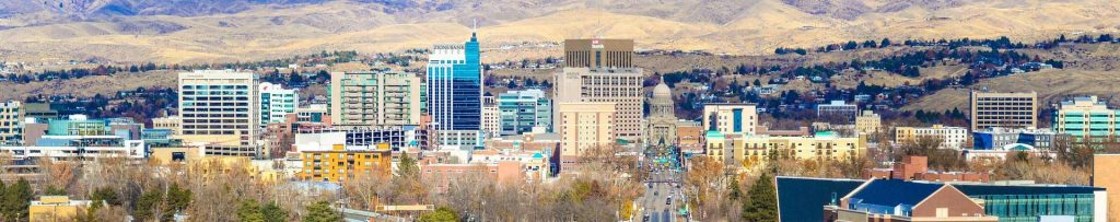 view to boise center